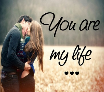 You Are My Life Facebook Image Share