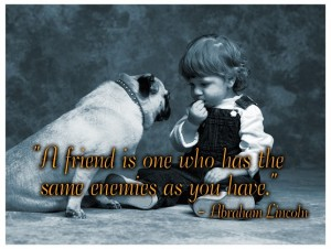 Friendship Quote By Abraham Lincoln