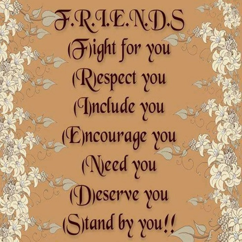 Meaning Of Friends