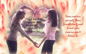 Friendship Quotes Wallpaper For Girls