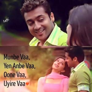 Munbe Vaa Yen Anbe Vaa Song Lyrics Facebook Image Share