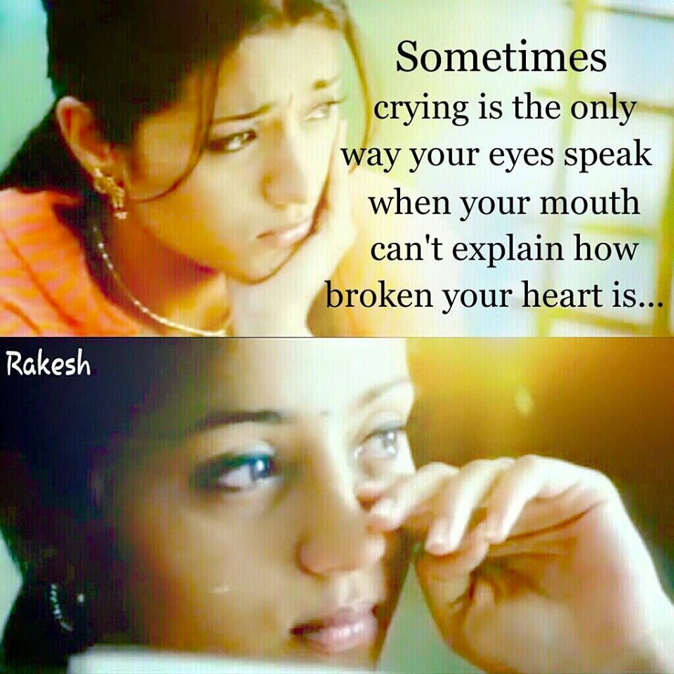 Sometimes Crying Is The Only Way Your Eyes - Facebook Image Share