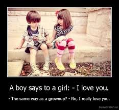 A Boy Says To A Girl