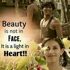 Beauty Is Not In Face It Is A Light In Heart Facebook Image Share