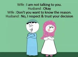Wife Talking To Husband Joke
