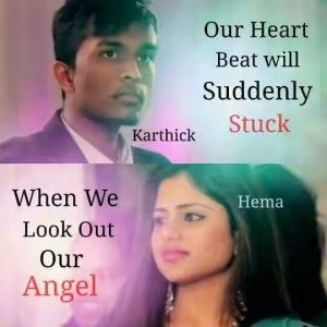 Our Heart Beat Suddenly Stuck When We Look Out Our Angel