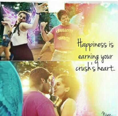 Happiness Is Earning Your Crush's Heart