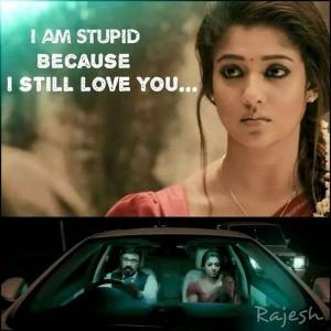 I Am Stupid Because I Still Love You