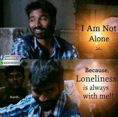 I Am Not Alone Because Loneliness Is Always With Me