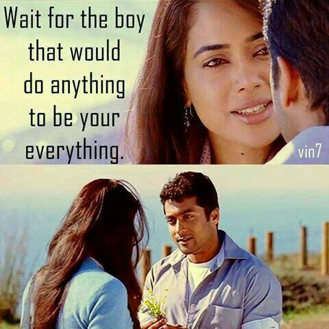 Wait For The Boy That Would Do Anything To Be Your Everything