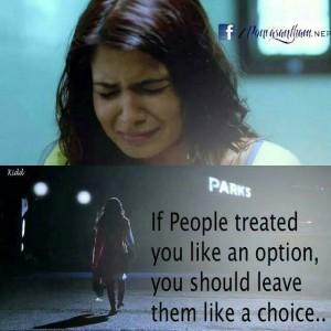 If People Treated You Like An Option