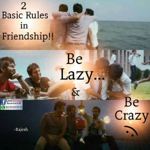 2 Basic Rules In Friendship