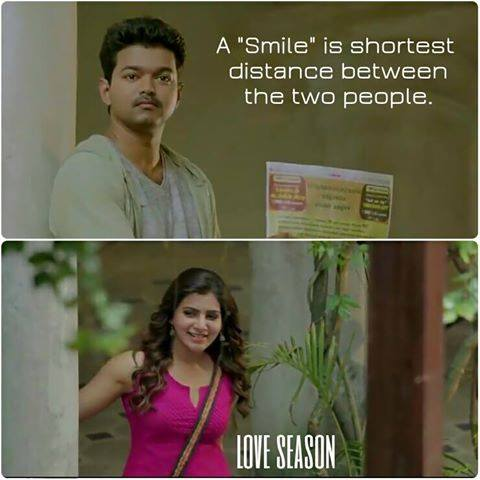 A Smile Is Shortest Distance Between The Two People