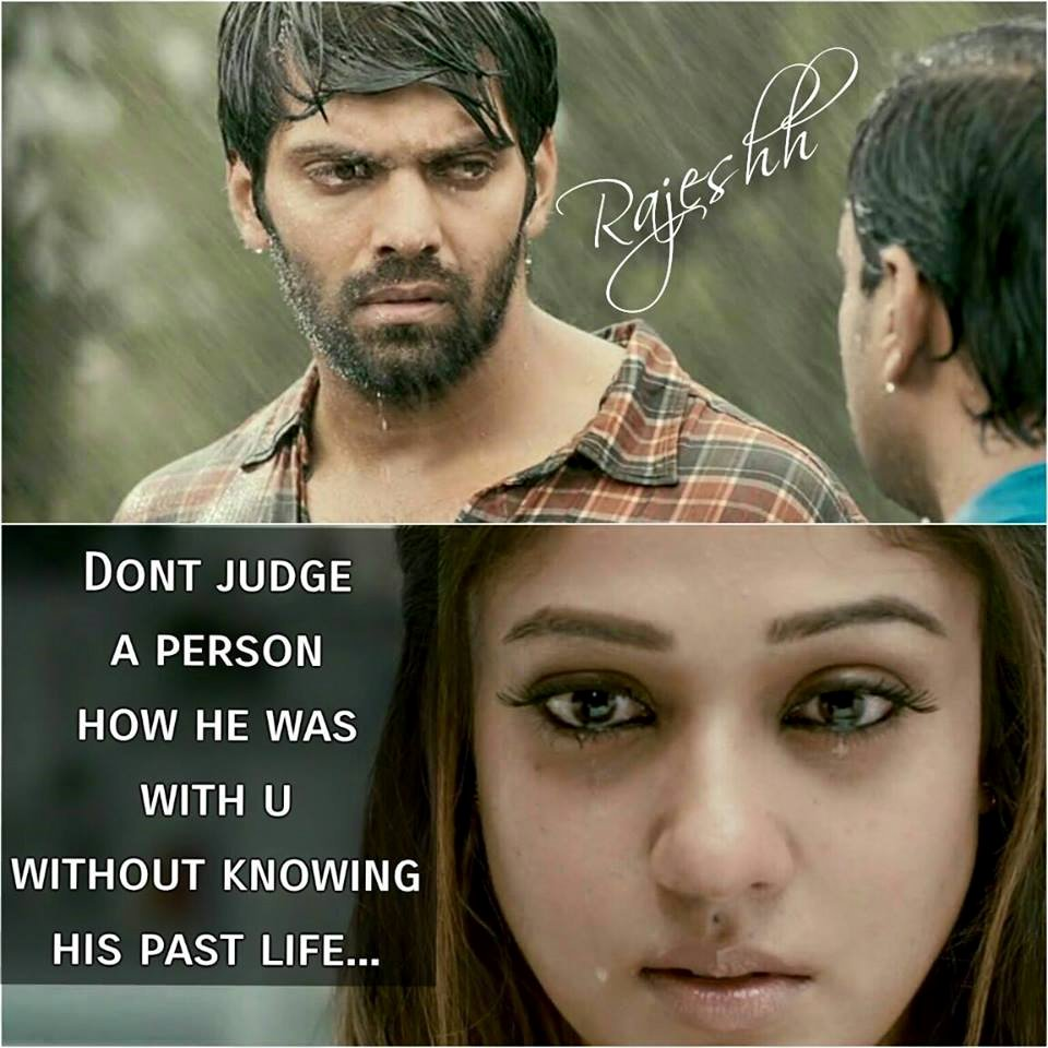 Dont Judge A Person How He Was With U