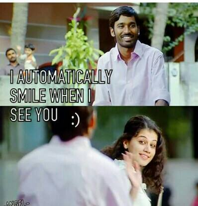 I Automatically Smile When I See You
