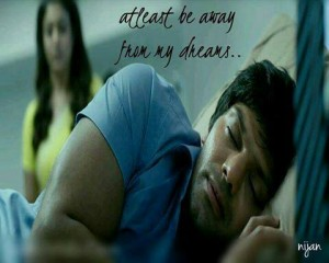 Atleast Be Away From My Dreams