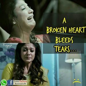 A Broken Heart Bleeds Tears