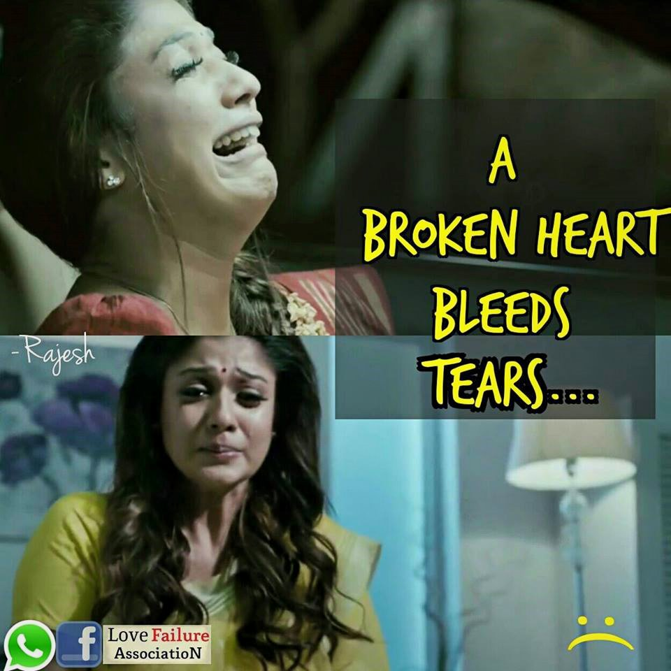 A Broken Heart Bleeds Tears