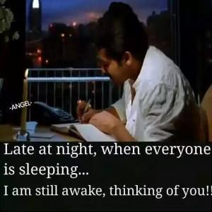 I Am Still Awake Thinking Of You