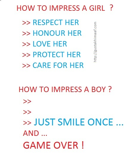 How To Impress A Boy or Girl ?