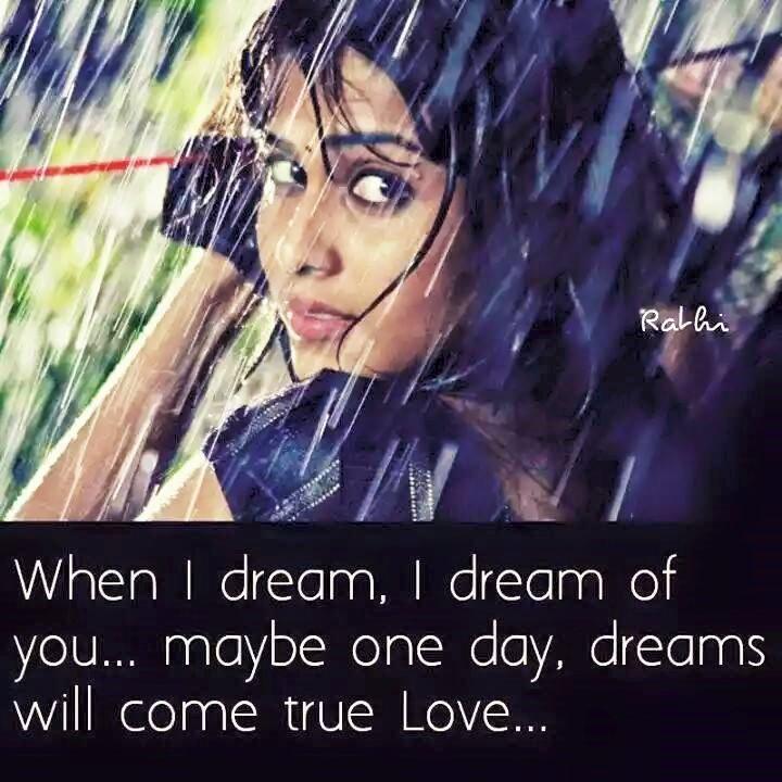 When I Dream I Dream Of You