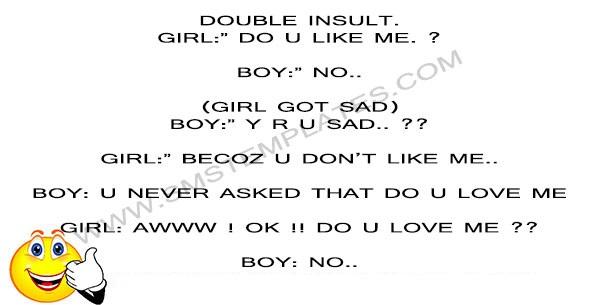 Double Insult Joke