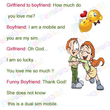 Girlfriend To Boyfriend Joke
