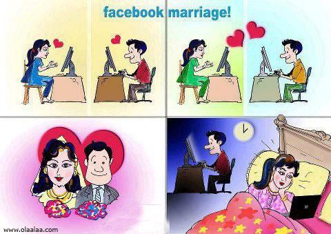 Facebook Marriage Funny