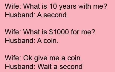 Funny Husband Wife Jokes