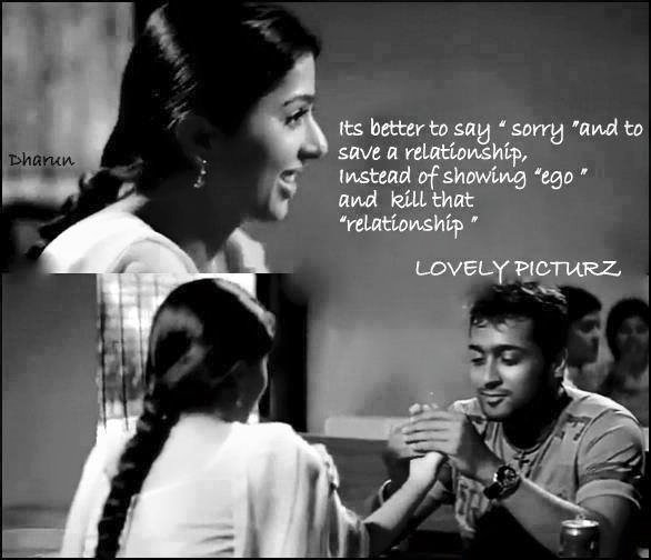 Its Better To Say Sorry and To Save A Relationship