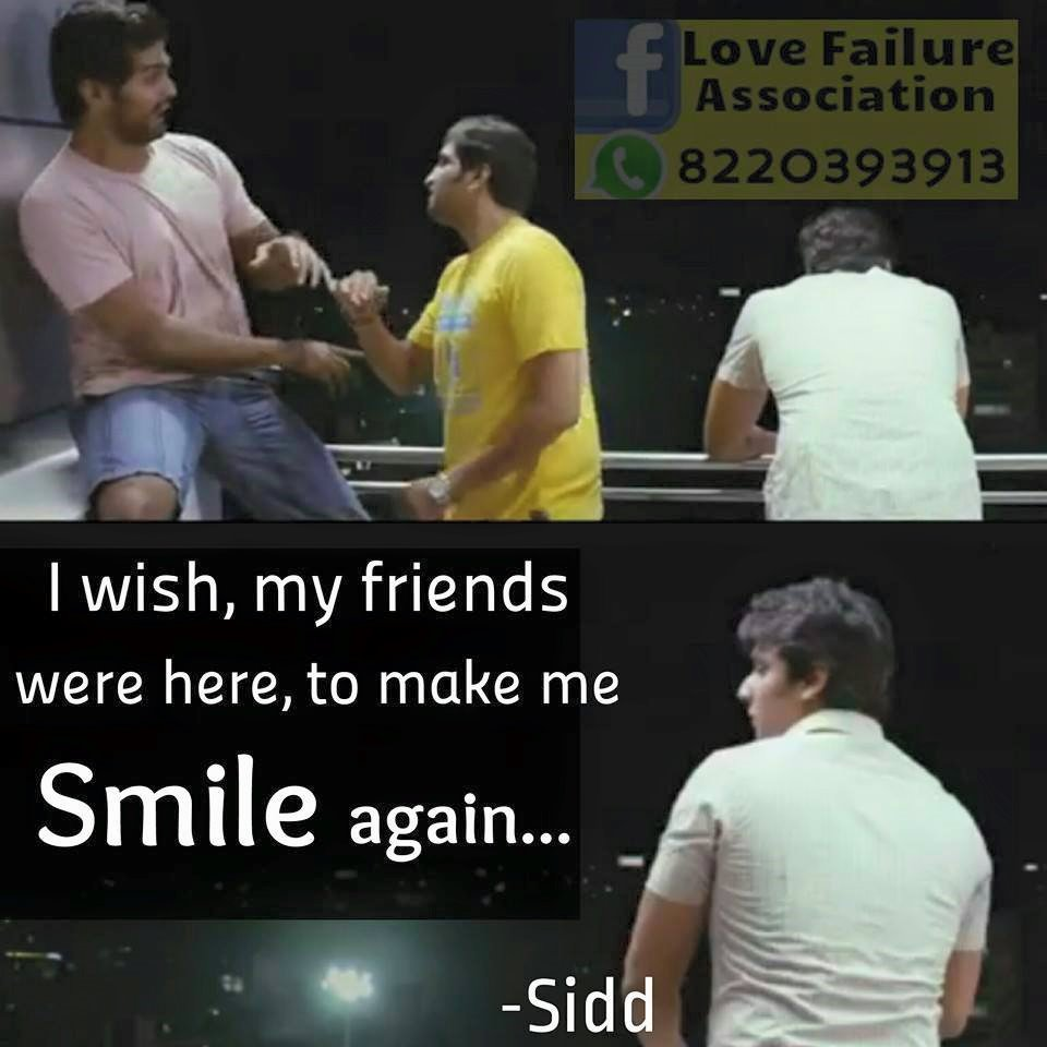 I Wish My Friends Were Here To Make Me Smile Again