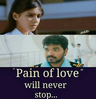 Pain Of Love Will Never Stop