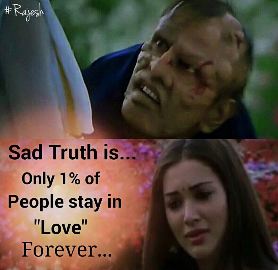 Sad Truth Is Only 1% Of People Stay In Love Forever