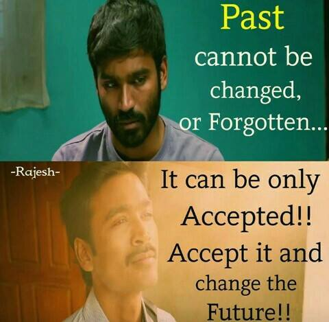 Past Cannot Be Changed or Forgotten