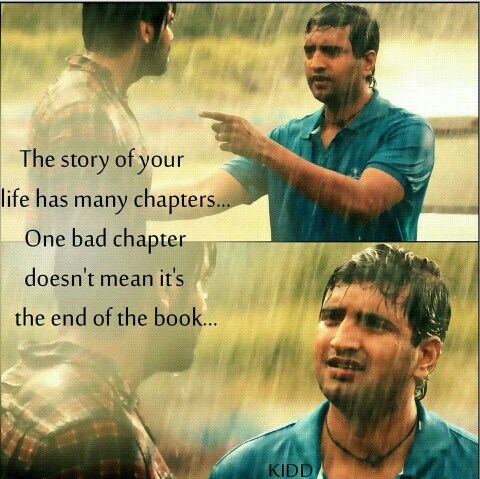 The Story Of Your Life Has Many Chapters