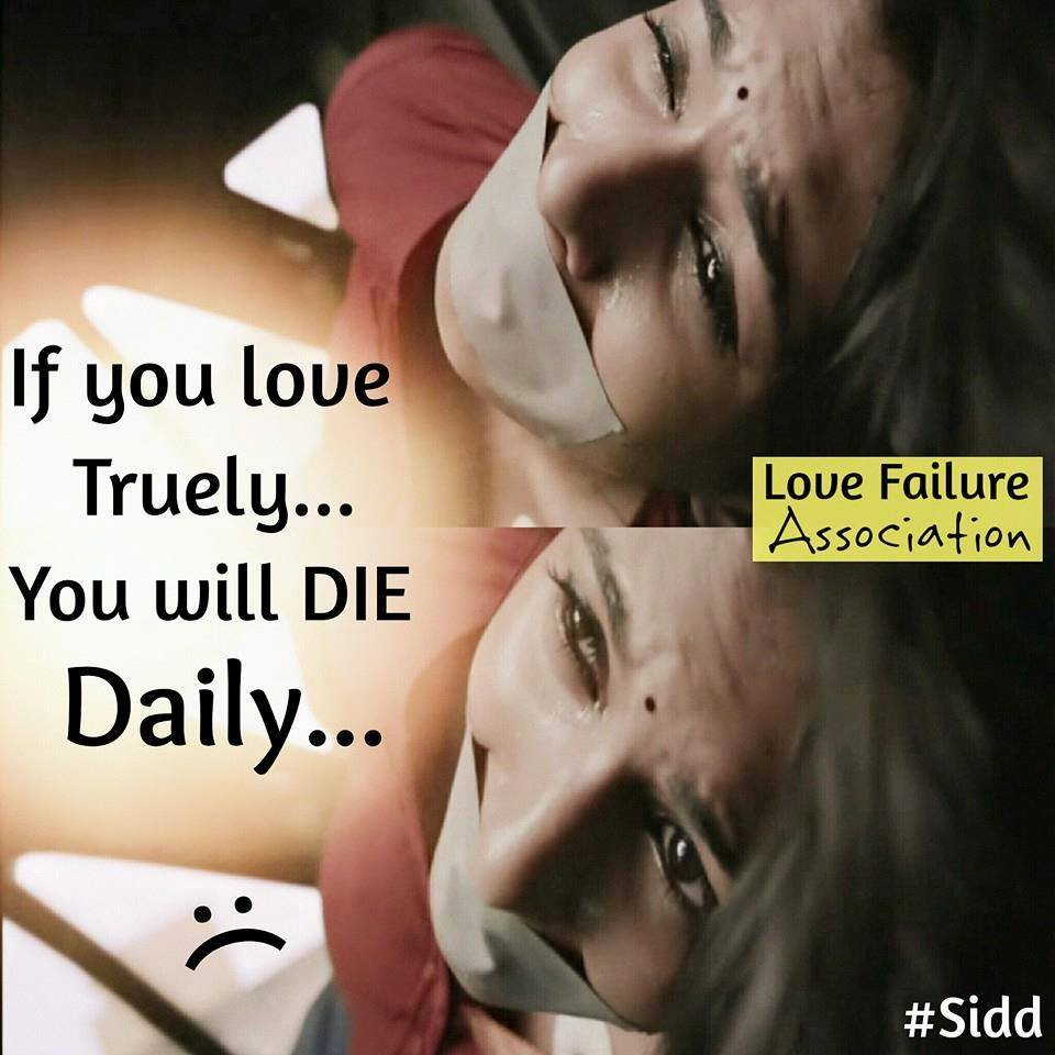 If You Love Truely You Will Die Daily