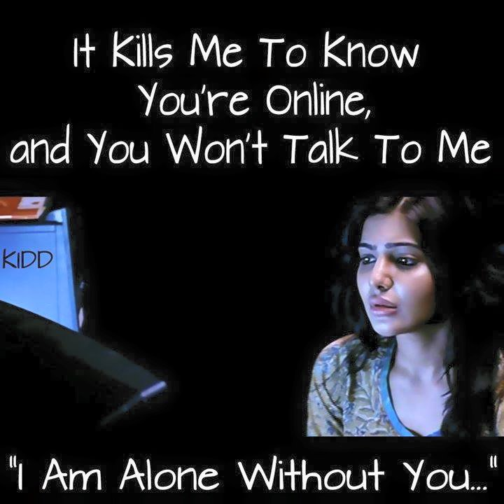 I Am Alone Without You